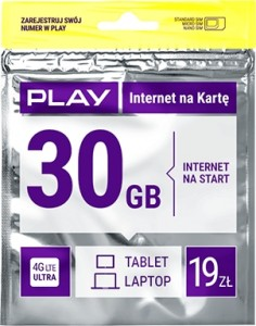 STARTER PLAY ONLINE 19 30GB
